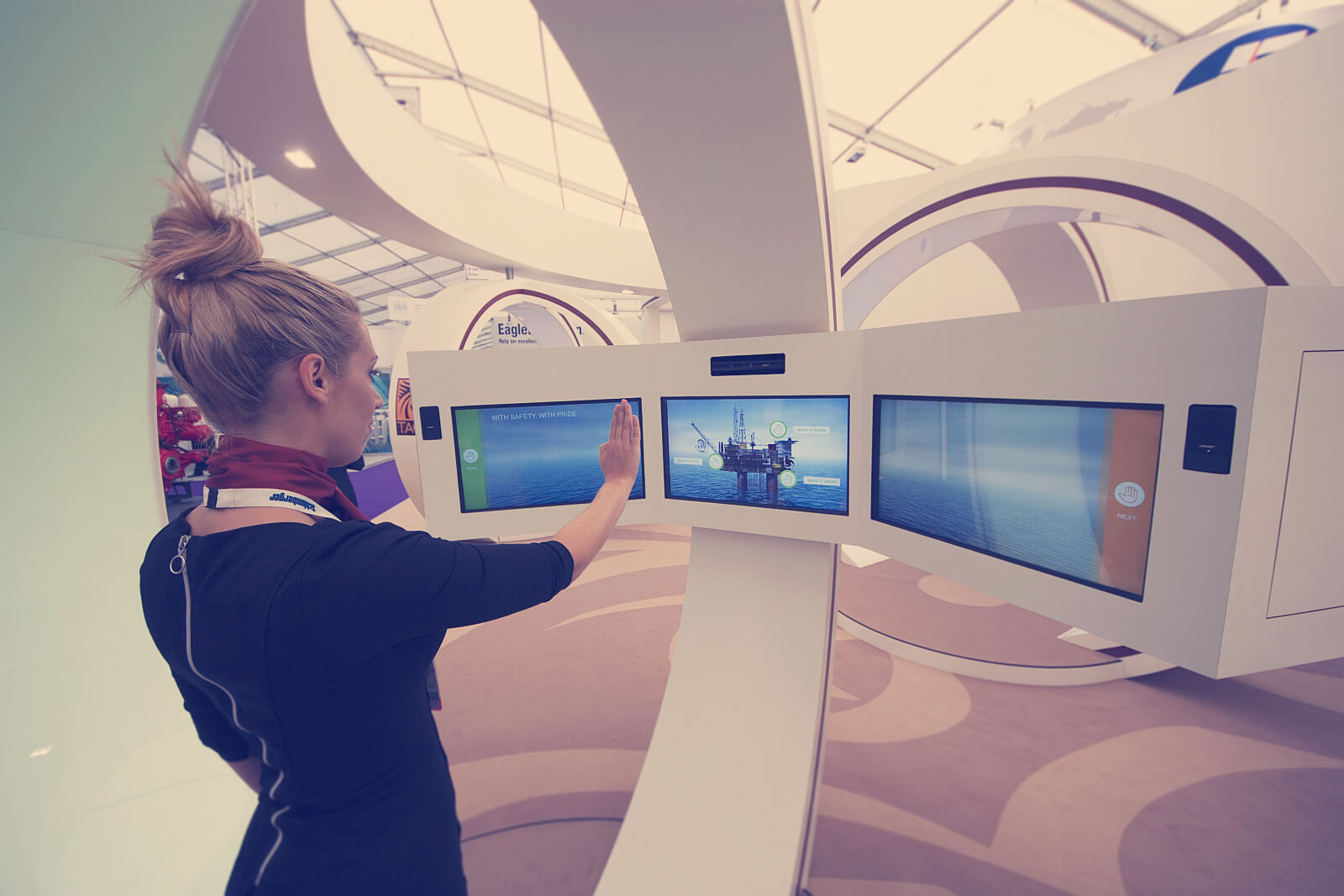 Immersive visitor experience for Taqa
