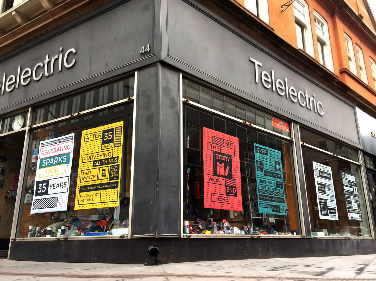 Telelectric store Halford Street