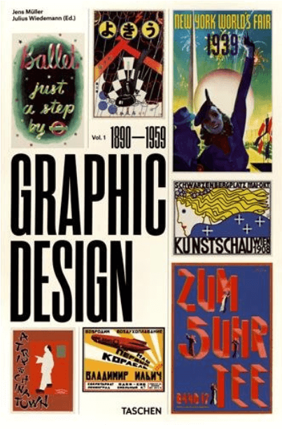 Front cover of The History of Graphic Design