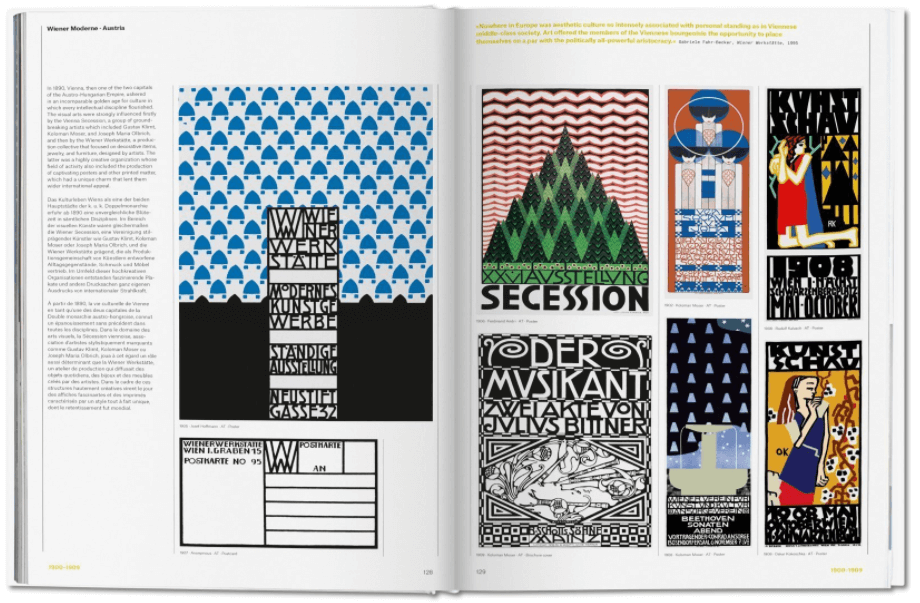 Inside look at The History of Graphic Design.