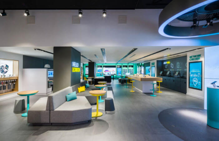 EE's new Interactive immersive show store experience