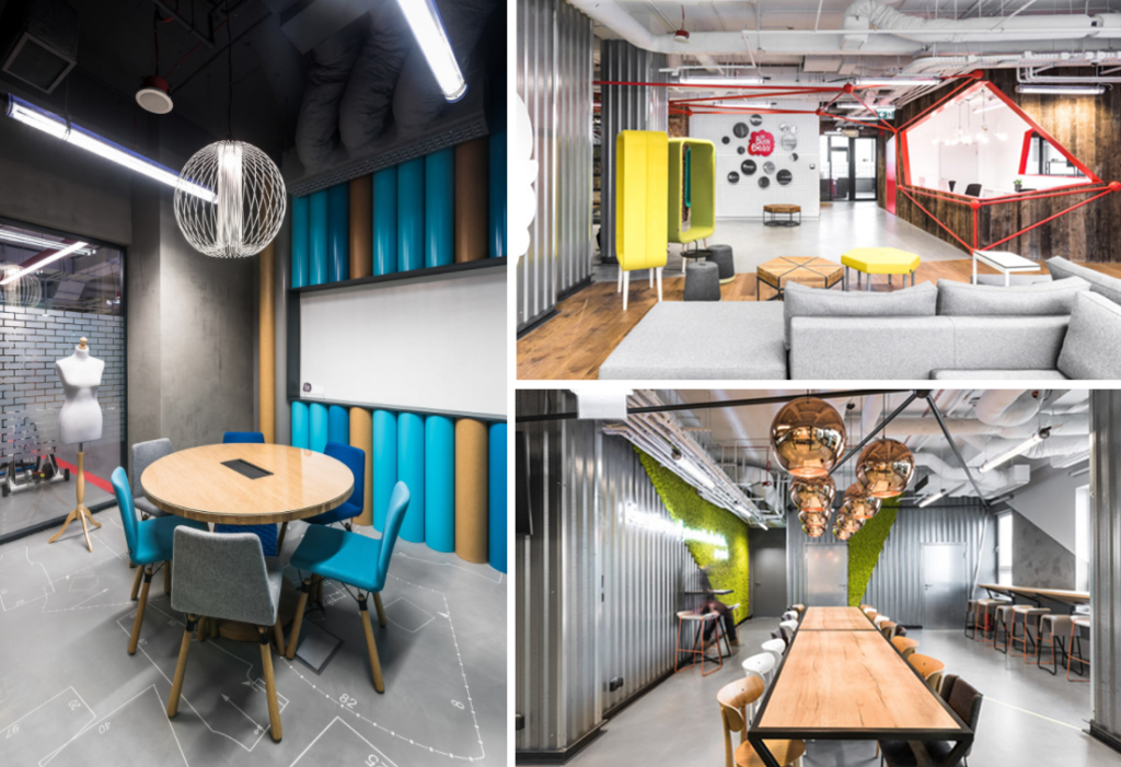 The Brain Embassy takes its design inspiration from the human brain to create a beautiful workspace