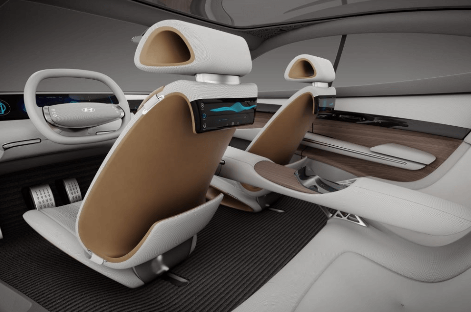 Interior of the new Hyundai concept car