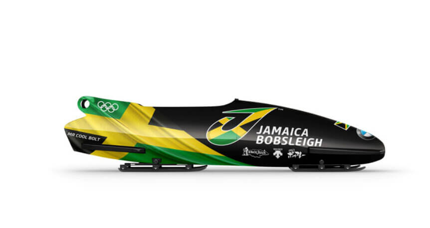 Jamaican team new branding or winter olympics