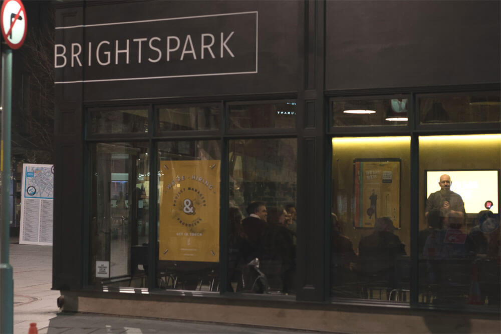SomeBrightSpark hosted BRAND NEW comedy event in the cultural quarter Leicester